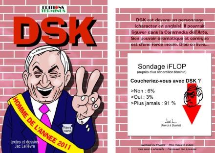 DSK homme de l'année 2011