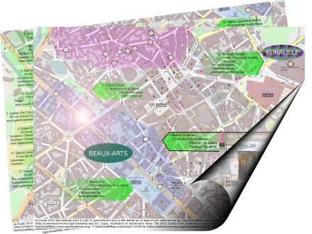 Guide 2012 galeries d'art Lille