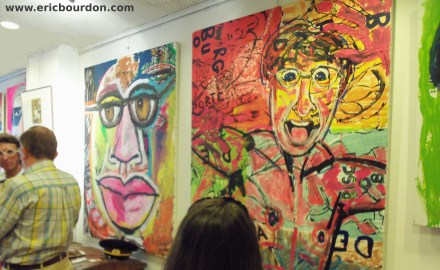 Denis Bisch exposition galerie portraits