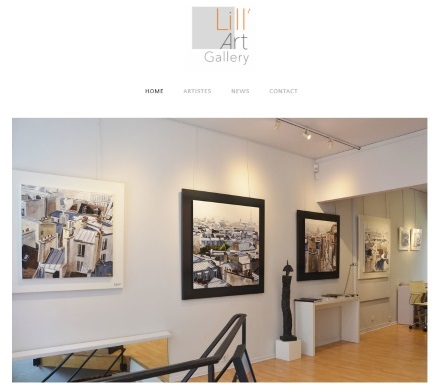 la galerie Lill'Art Gallery Lille Eric Bourdon