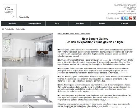 galerie new square eric bourdon