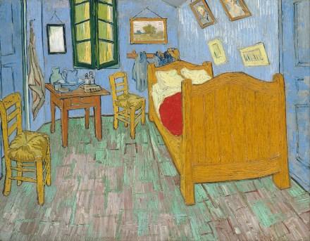 Van Gogh La Chambre huile sur toile 440