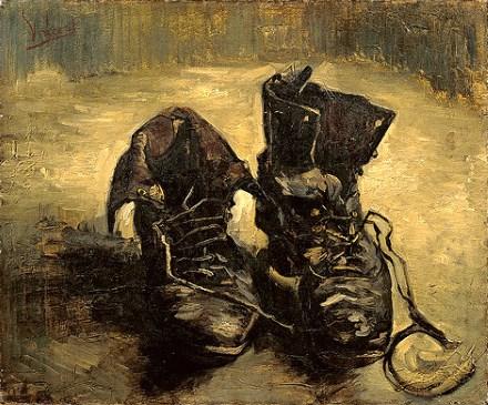 Vincent van Gogh Vieux souliers aux lacets