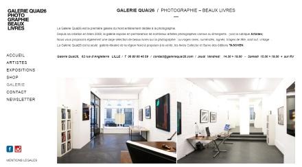 galerie quai26 lille eric bourdon