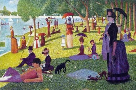georges seurat peinture pointilliste 440 eric bourdon