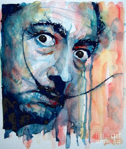 salvador dali paul lovering aquarelle 440 eric bourdon