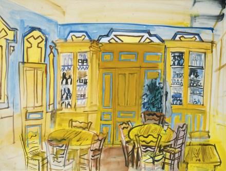 raoul dufy scene cafe 440 eric bourdon