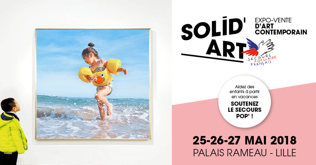 exposition solid art solidaire eric bourdon lille 2018