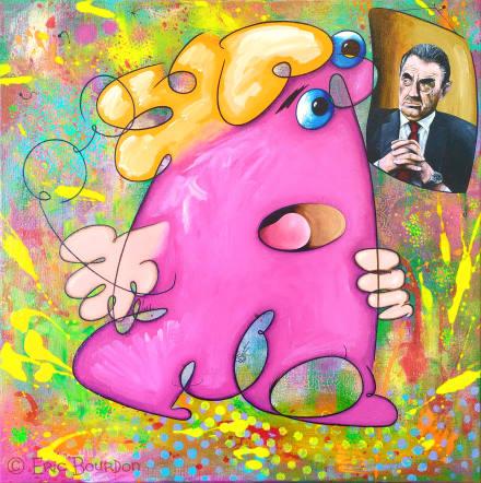 Vieil art classique dans une galerie contemporaine - Eric Bourdon