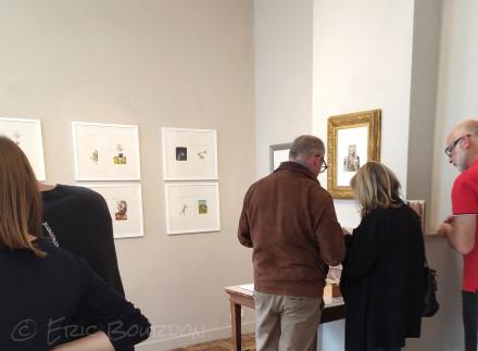 exposition galerie atelier 13 nathalie vessié-hodges