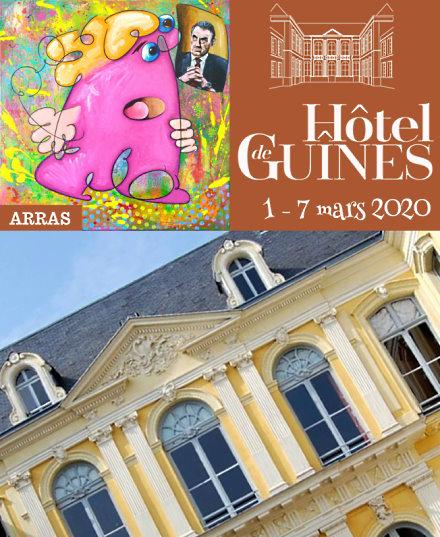 exposition peinture galerie hotel guines arras eric bourdon