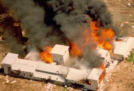 siege waco texas flammes feu secte