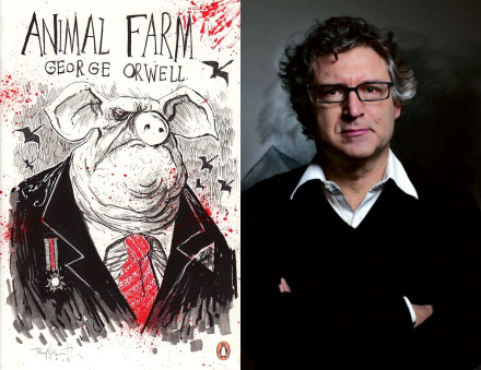 front populaire cochon napoléon ferme animaux george orwell michel onfray