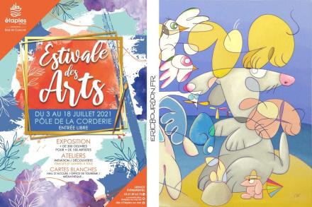 35ème Estivale des Arts à Étaples-sur-mer - Eric Bourdon